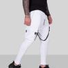 pantaloni barbati albi series 881975 2873 5871