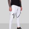 pantaloni barbati albi series 881975 2873 7987