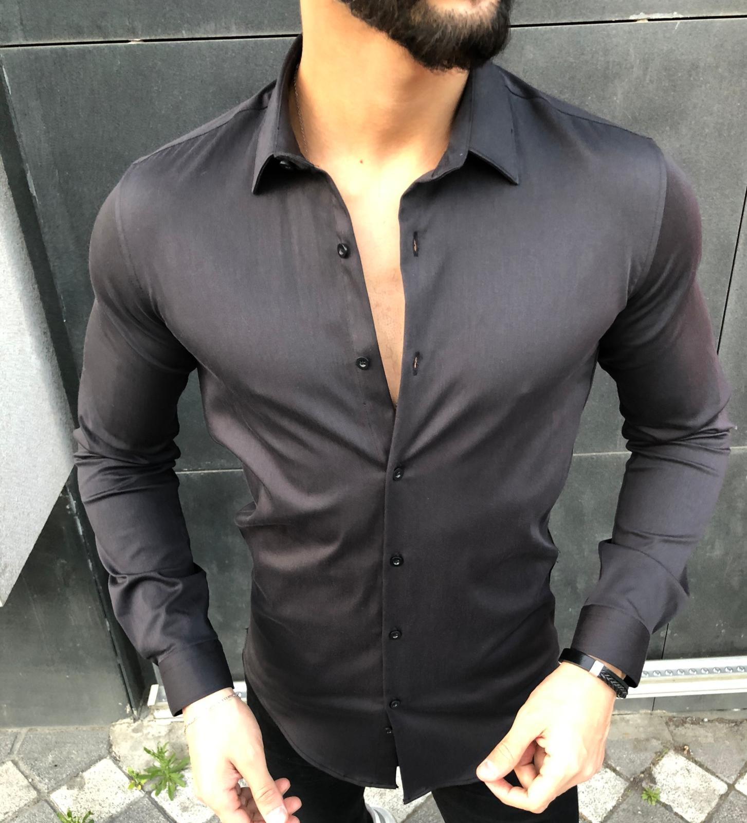 Camasa Barbati Neagra Quit 991527