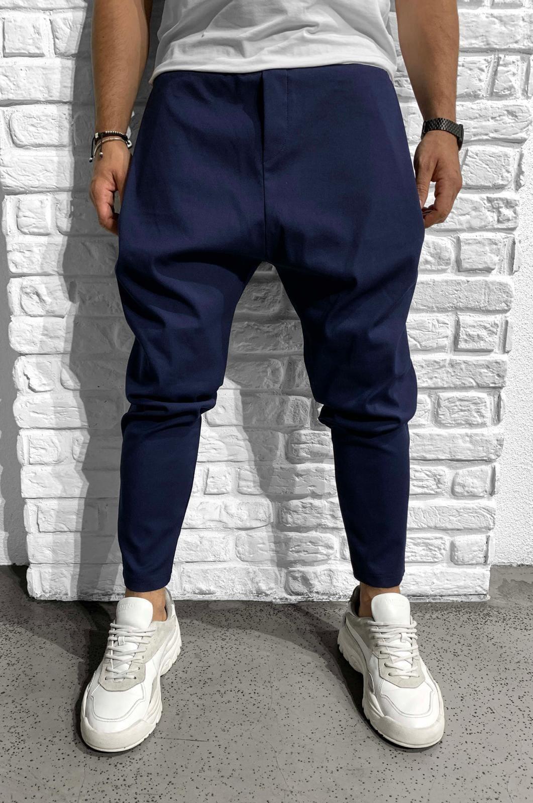 Pantaloni Barbati Bleumarin Bleed 981156