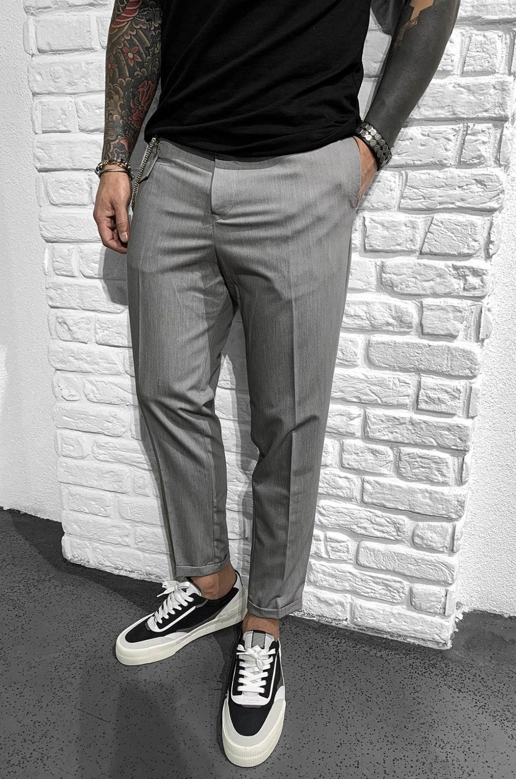 Pantaloni Barbati Gri Vision 902007
