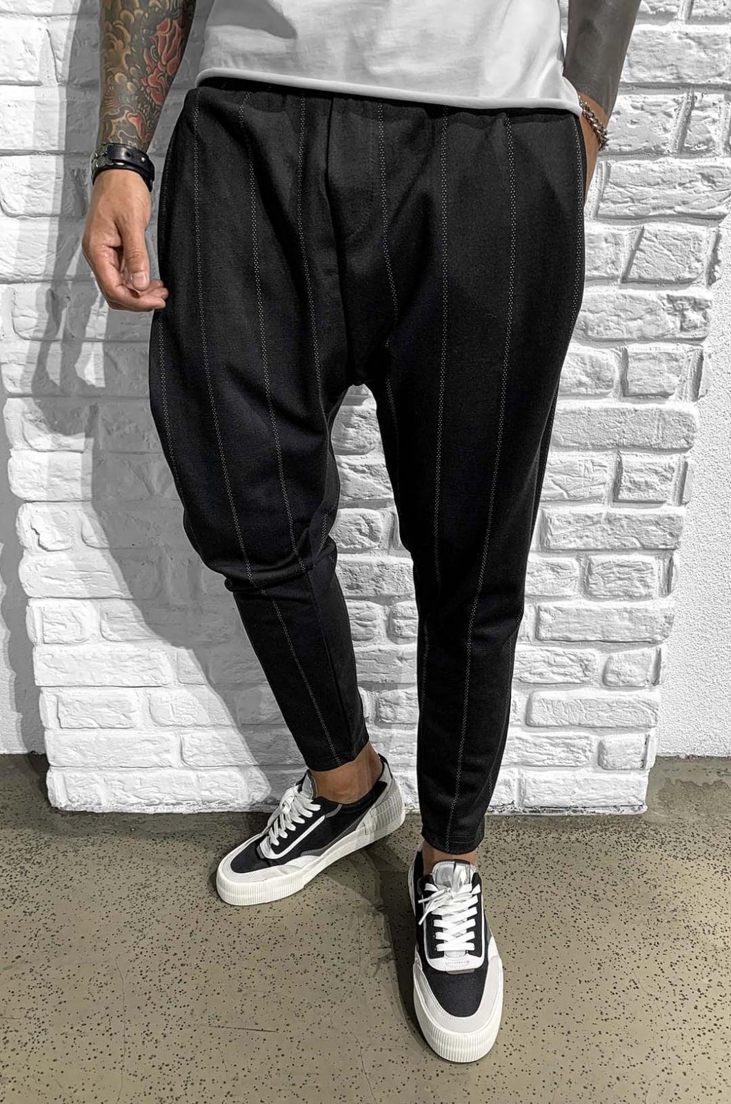 Pantaloni Barbati Negri Tax 901152