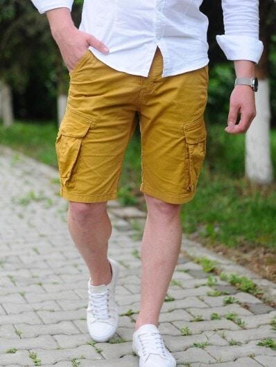 pantaloni scurti barbati bleumarin 350 3677 1 uai