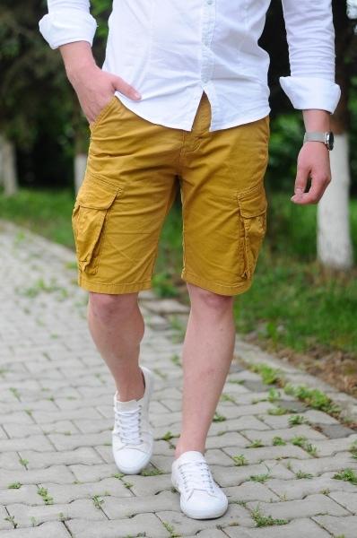 pantaloni scurti barbati bleumarin 350 3677 1
