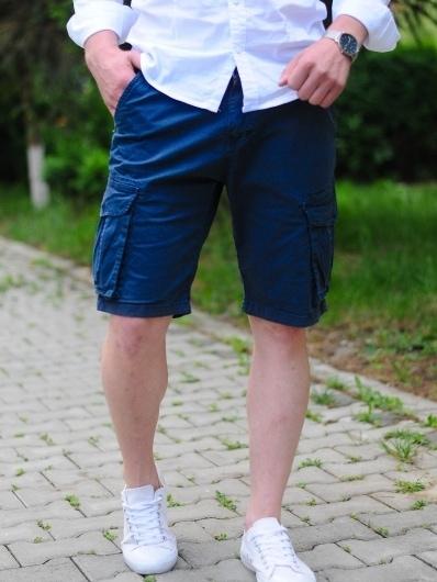 pantaloni scurti barbati bleumarin 357 6263 1 uai
