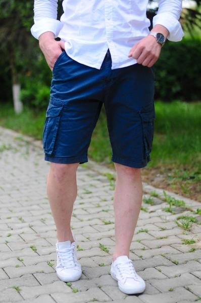 pantaloni scurti barbati bleumarin 357 6263 1